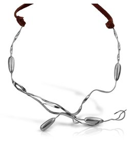 Seaweed Necklace - Sterling Silver