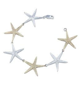 Starfish Bracelet - Two Tone