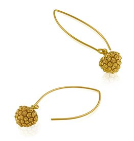 Kousa Dogwood Earrings - Vermeil (Wire)