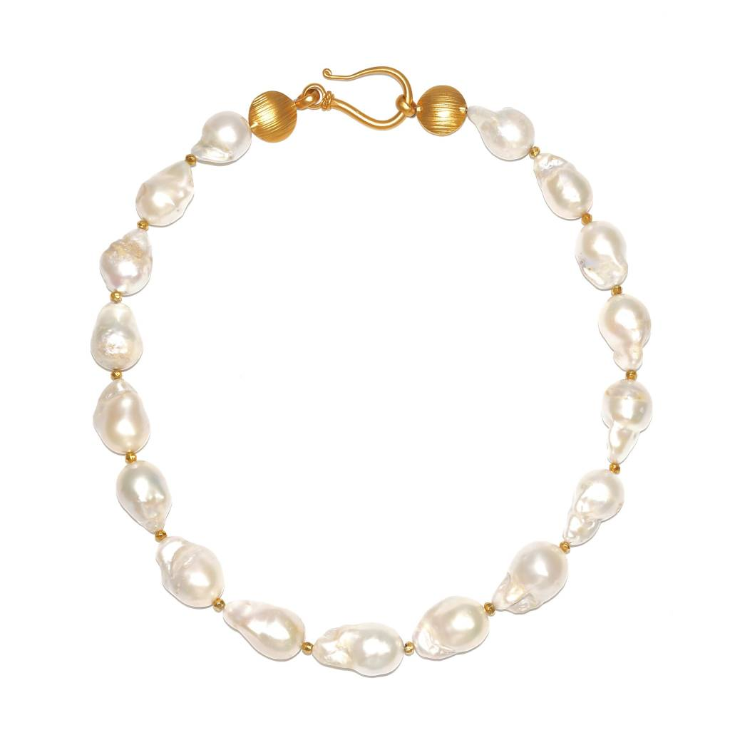 Baroque Pearl Necklace - Medium