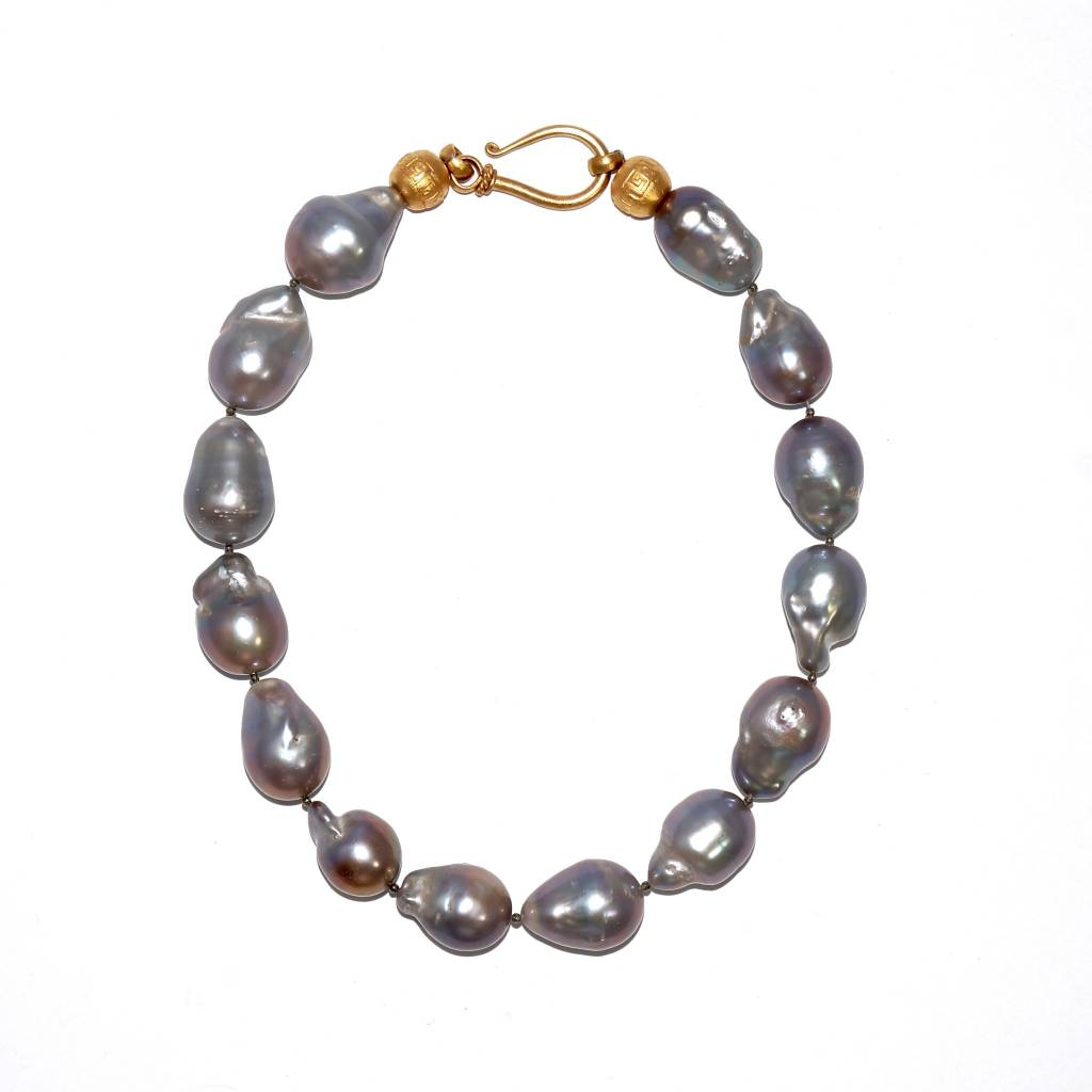 Baroque Pearl Necklace - Large