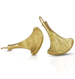 Armadillo Scapula Earrings - Vermeil