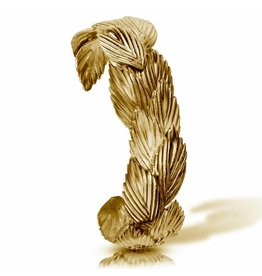 Sea Oats Cuff - Vermeil