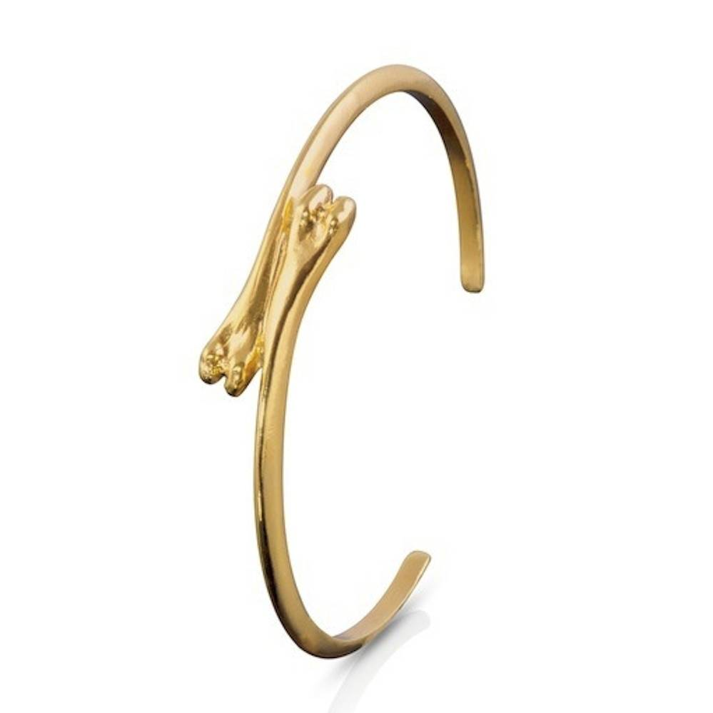 Raccoon Pecker cuff-Vermeil