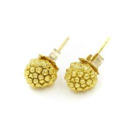 Kousa Dogwood Earrings - Vermeil (Post)