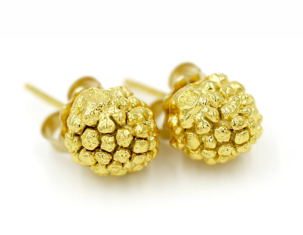 Kousa Dogwood Earrings - Vermeil (Post)