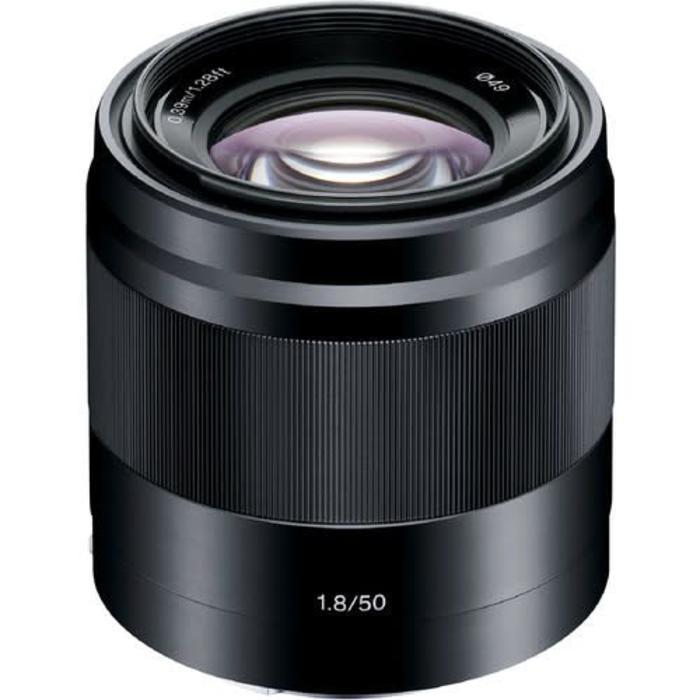 Sony E 50mm f/1.8 OSS (Black)