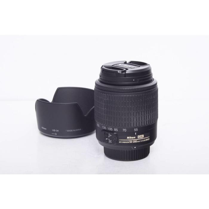 Nikon AF-S Nikkor 55-200mm f/4-5.6 G DX ED