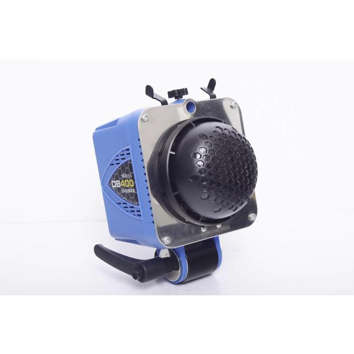 AlienBees DB400 DigiBee Flash Unit (Blue) with beauty dish