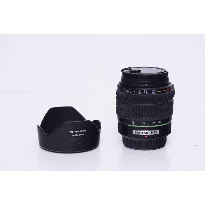 Pentax 18-55mm SMC DA