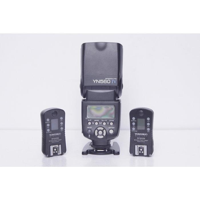 Yongnuo 560 IV Speedlight with RF605N Set - Nikon