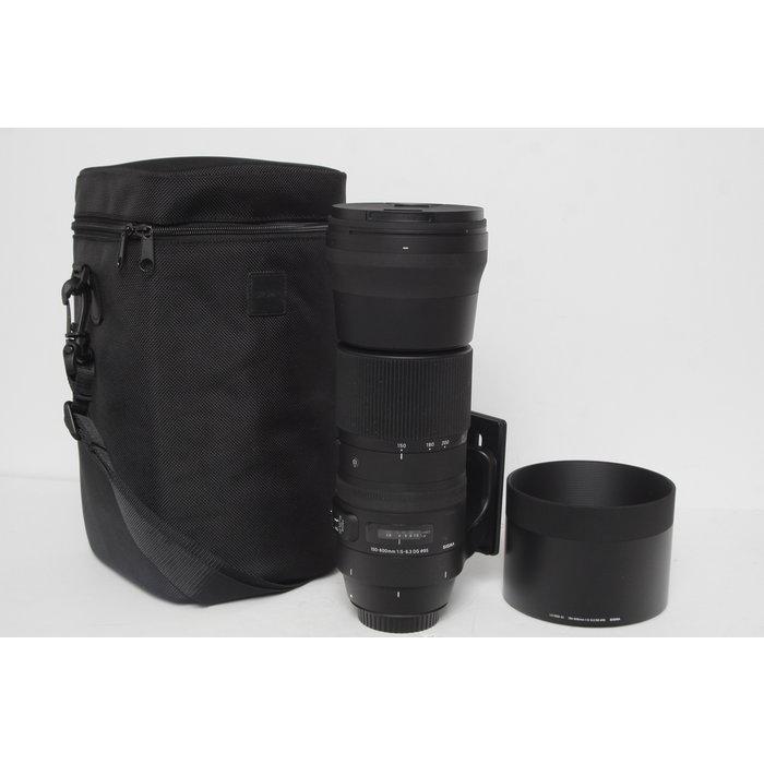 Sigma 150-600mm f/5-6.3 DG OS HSM - Canon