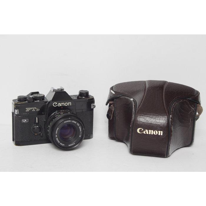 Canon FTB QL w/ 50mm f/1.8