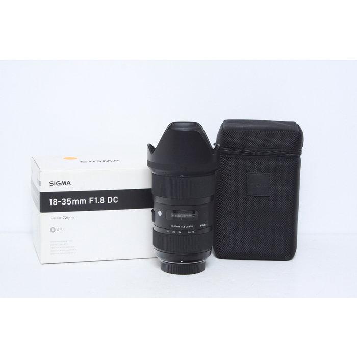 Sigma 18-35mm f/1.8 DC HSM Art Lens for Nikon F