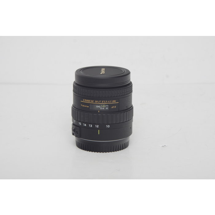 Tokina 10-17mm f/3.5-4.5 Fisheye for Canon