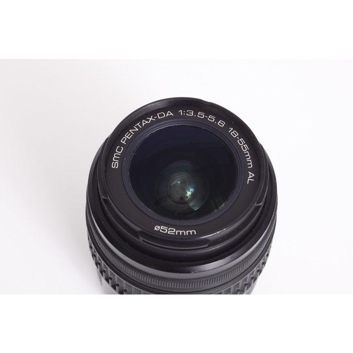 Pentax 18-55mm f3.5-5.6 DA