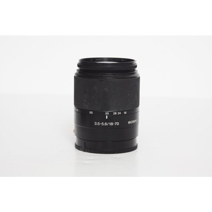 Sony 18-70mm f/3.5-5.6