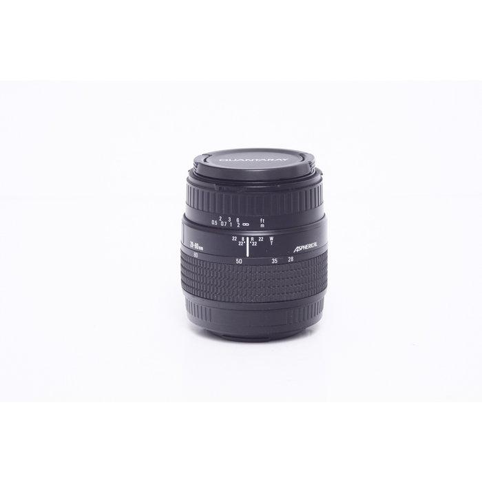 Quantaray MX 28-80mm f/3.5-5.6 AF - Minolta/Sony