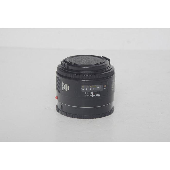 Minolta 50mm f/1.7 - Minolta or Sony A Mount