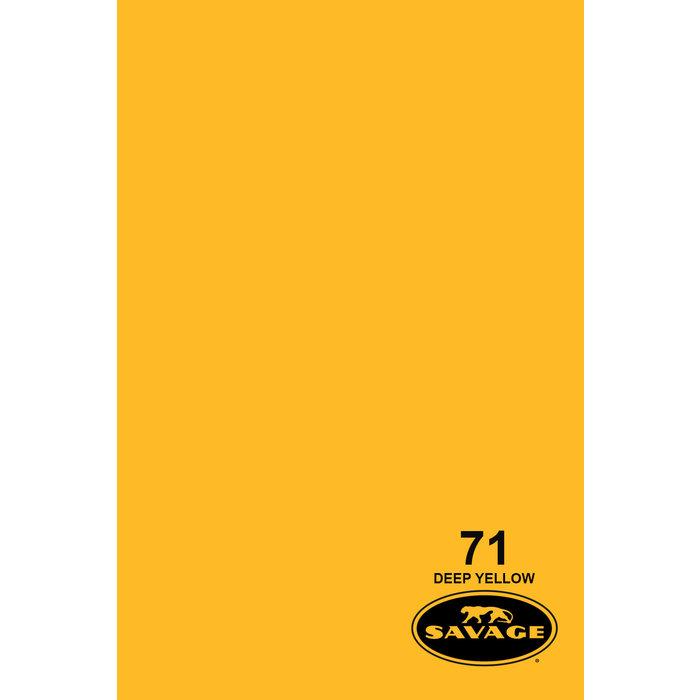 "Savage 86"" Seamless Paper Deep Yellow"