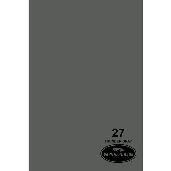 "Savage 86"" Seamless Paper Thunder Gray"