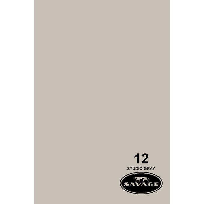 "Savage 86"" Seamless Paper Studio Gray"