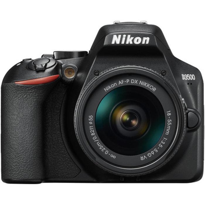 Nikon D3500 w/ 18-55mm f/3.5-5.6 AF-P VR