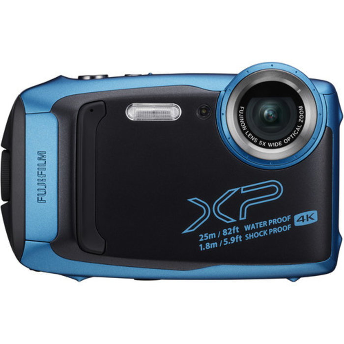 Fuji FinePix XP140 - Sky Blue with 16GB SD Card