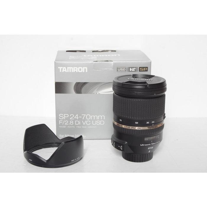 Tamron SP 24-70mm f/2.8 Di VC - Nikon