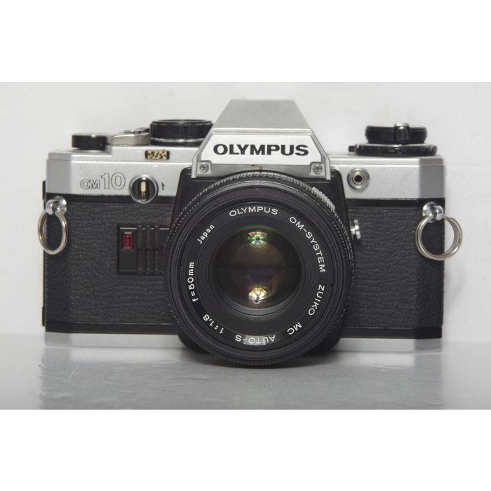 Olympus OM 10 w/ Olympus 50mm f/1.8