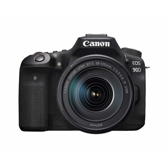 Canon EOS 90D w/18-135mm IS USM