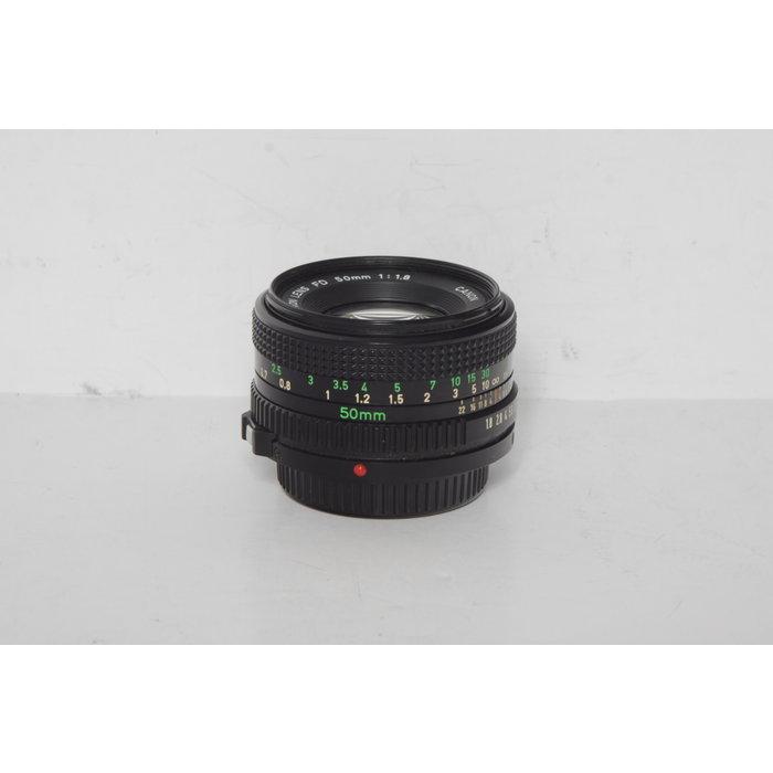 Canon 50mm f/1.8 FD