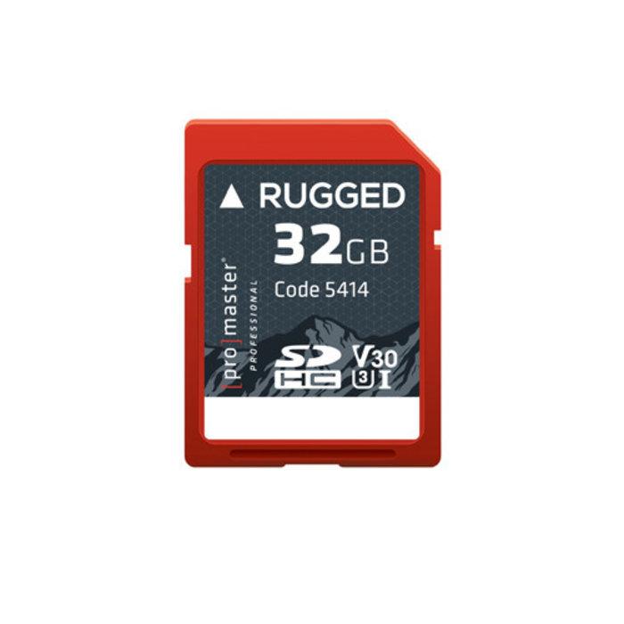 ProMaster Rugged SDXC 32gb UHS-I V30