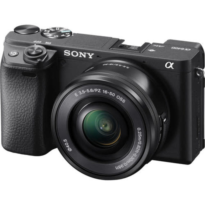 Sony a6400 w/ 16-50mm f/3.5-5.6 OSS (Black)
