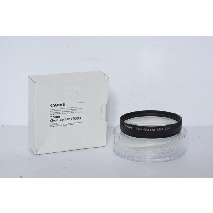 Canon 77mm Close-up Lens 500D