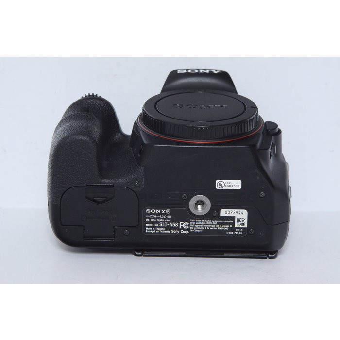 Sony A58 Body Only