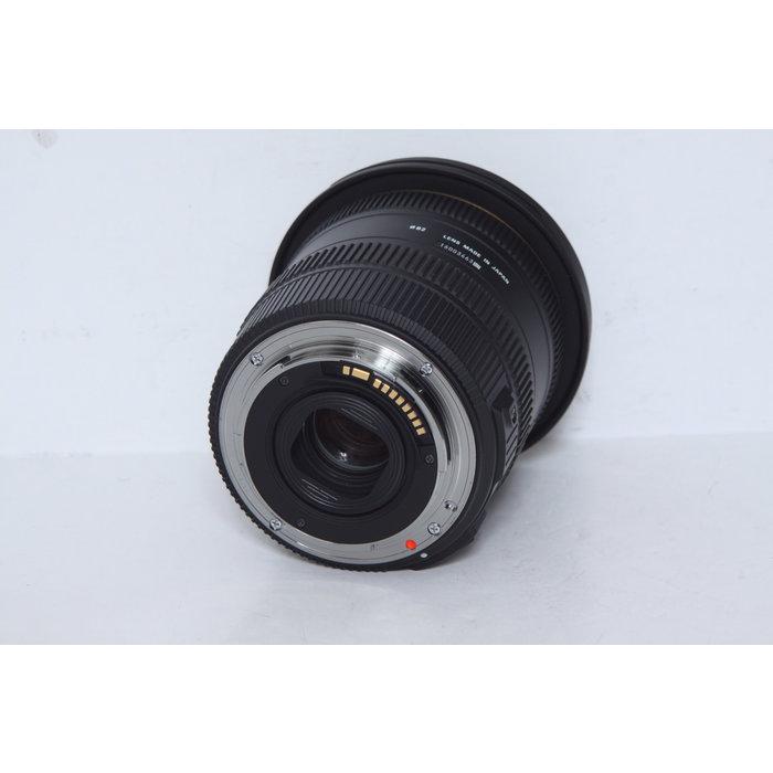 Sigma 10-20mm f/3.5 EX DC HSM - Canon