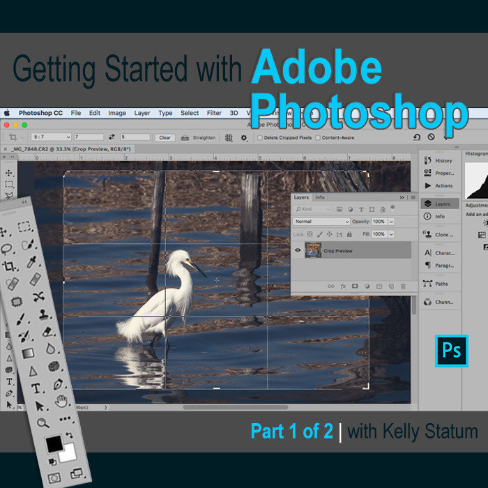 Getting Started with Photoshop (PT 1) (Jan 14 2020) DAYTIME