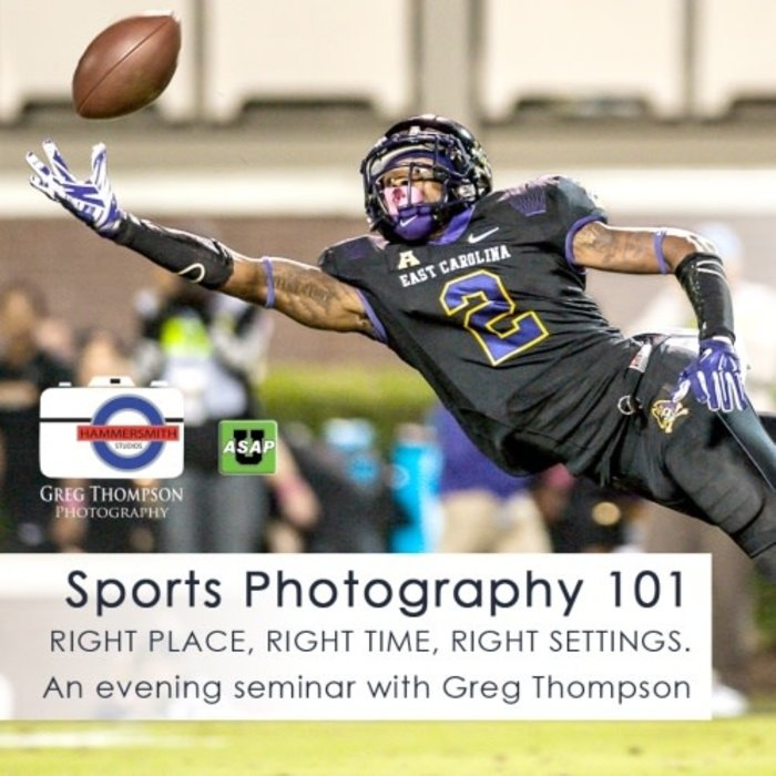 Sports Photography 101 (February 25, 2020)