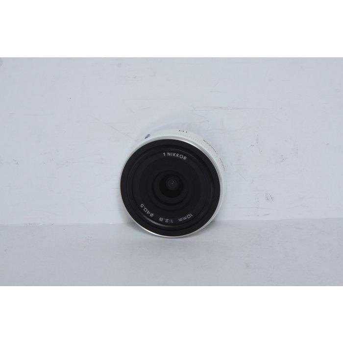 Nikon J Nikkor 10mm f/2.8 (White)
