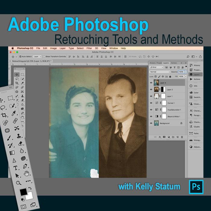 Photoshop: Retouching Tools & Methods