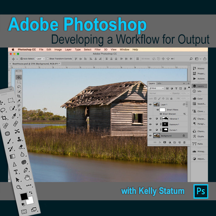 Photoshop: Developing a Workflow for Output (March 3 2020) DAYTIME