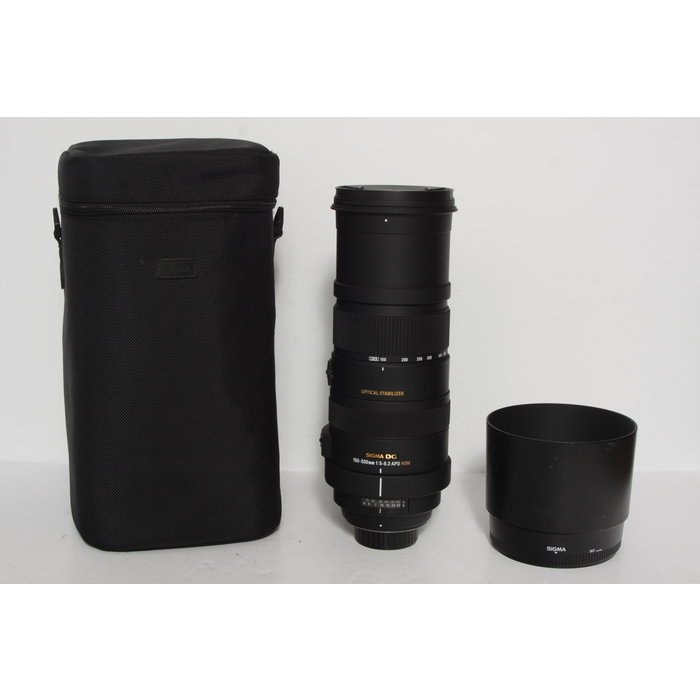 Sigma 150-600mm f/5-6.3 APO DG HSM - Nikon