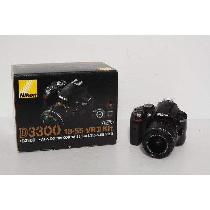 Nikon D3300 w/ 18-55mm f/3.5-5.6G VR II