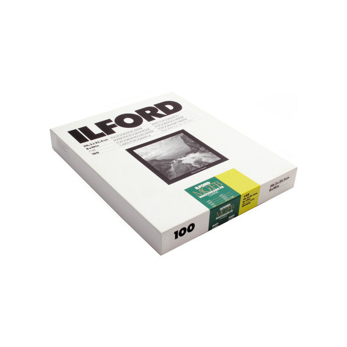 "Ilford Multigrade FB Classic Matt Variable Contrast Paper (8 x 10"", 100 Sheets)"
