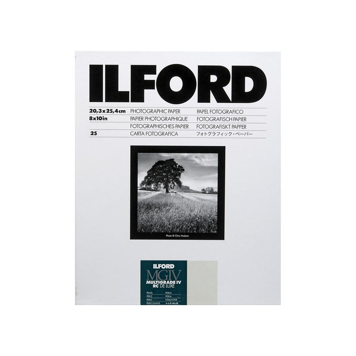 "Ilford Multigrade IV RC DeLuxe Paper (Pearl, 8 x 10"", 25 Sheets)"