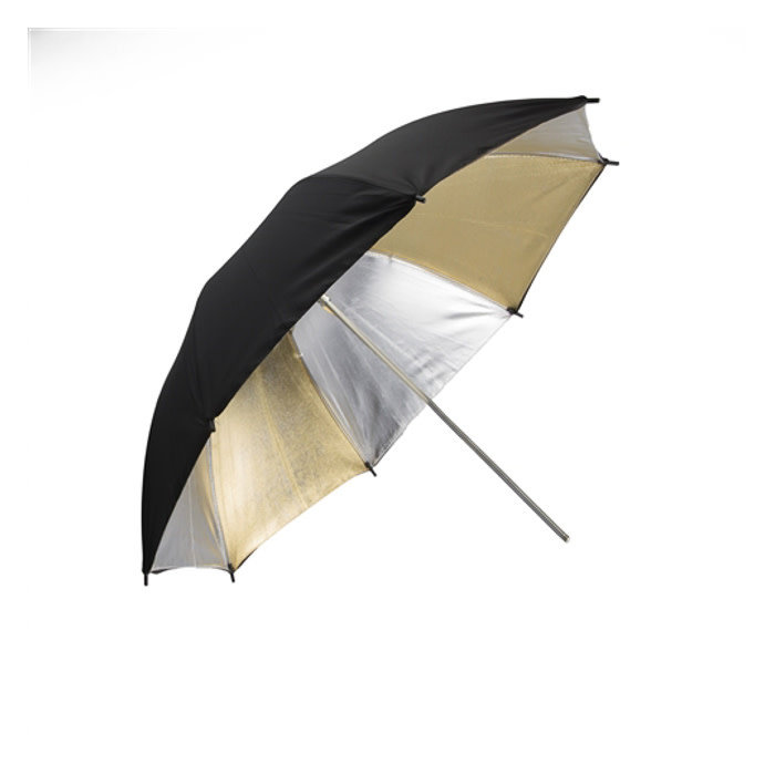 "ProMaster 36"" Gold and Silver Umbrella"