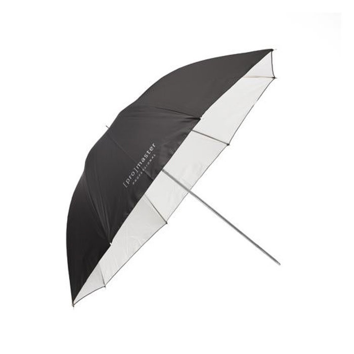 "ProMaster 36"" Black and White Umbrella"