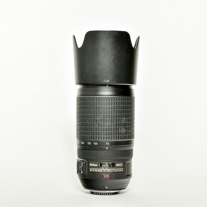 Nikon AF-S 70-300mm f/4.5-5.6 G ED IF VR