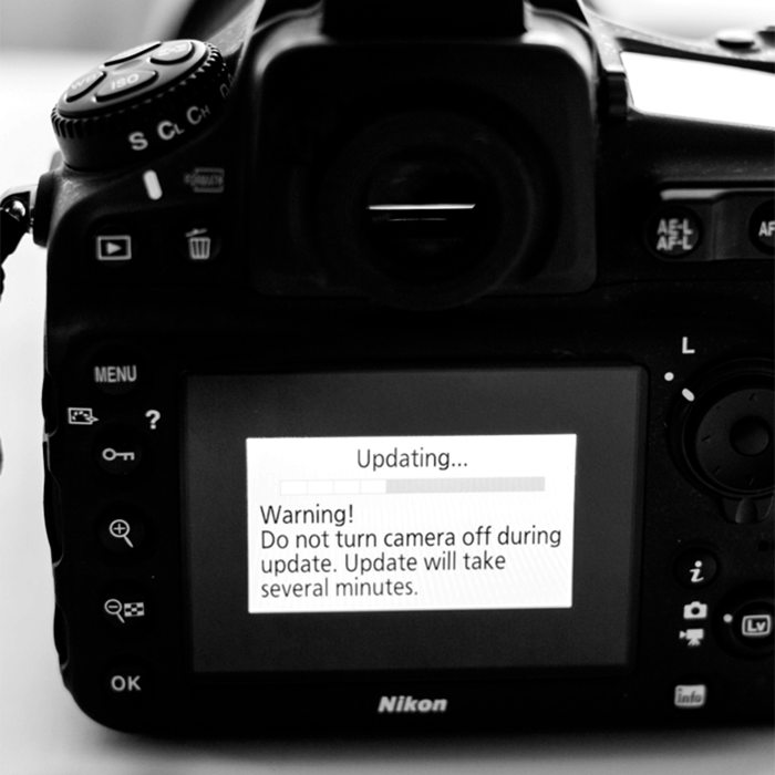 Camera or Lens Firmware Update